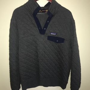 Patagonia Quilted Snap Pullover